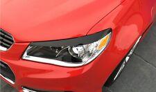 2014 2015 2016 Chevy SS Sedan Headlight EYELID Overlays