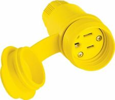 Eaton 15W47-K 15-Amp 2-Pole 3Wire 125-Volt Industrial Grade Connector, Yellow