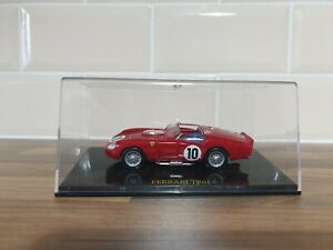 IXO MODELS  - FERRARI TR61  - LE MANS #10  - 1/43 SCALE MODEL CAR - MAGAZINE CAR