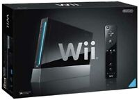 Nintendo Wii Console Black With Wii Sports Very Good 3Z
