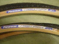 27x11/8 (28-630) Panaracer Pasela Amber wall tyre 330g Price for 2 Tyres