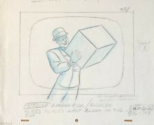BRUCE TIMM rare RIDDLER Original Production Drawing WHAT IS REALITY BTAS WB COA