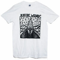 ELECTRIC WIZARD T SHIRT Sludge Metal Psychedelic Graphic Printed Band Music Tee
