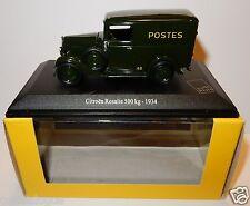 UNIVERSAL HOBBIES UH CITROEN ROSALIE 1934 POSTES POSTE PTT 1/43 IN LUXE BOX