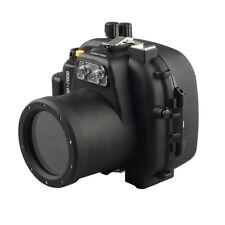 50m/160ft Underwater Housing Waterproof Case for Canon 650D 700D Rebel T4i T5i