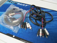 Lot 2 6 ft Cable Mini 5 Component Video Cable ASB4800-6 Male to Male 5RCA A/V