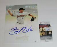 Brandon Backe Signed 8x10 Photo Houston Astros JSA COA 2005 World Series 26377