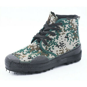Men's Chinese Military Liberation Shoes Lace-up Army PLA Trainning Bootes 6.5-12
