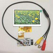 "4.3"" TFT LCD Module Display Screen Monitor + A/D Board with 2AV in Reversing"