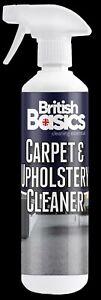 British Basics Carpet & Upholstery Curtains Spray Spot Cleaner Rugs Runners BB