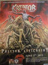 Kreator, Phantom Antichrist, Full Page Vintage Promotional Ad