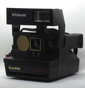 Polaroid Sun 660 Sofortbild-Kamera mit Ultraschall Auto-Focus