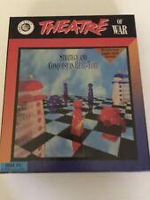 Vintage Theatre Of War PC Game IBM Big Box 1992 Excellent Condition