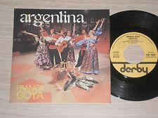 "FRANCIS GOYA - ARGENTINA / VERONICA MON AMOUR - 45 GIRI 7"" ITALY"