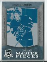 1/1  2007 Upper Deck The Cup #157 Jannik Hansen Vancouver Canucks Rookie