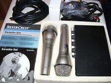 SilverCrest Karaoke Set + weitere 5 Karaoke CD´s