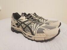Aisics Gel-Kahana 8 Feather Grey/Black/Carbon Trail Running Shoe's US 7. New