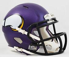 MINNESOTA VIKINGS NFL Riddell SPEED Mini Football Helmet