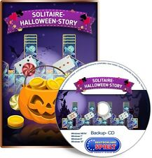 Solitaire Halloween Story - PC - Windows XP / VISTA / 7 / 8 / 10