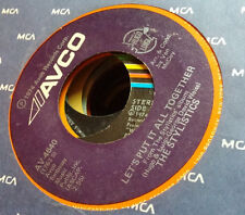 The Stylistics 45 Let's Put it All Together/I Take it Out on You Avco 4640
