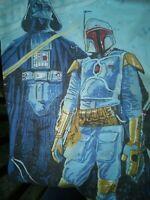 Star Wars Original 1979 Black Falcon Ltd Twin  Fitted bed Sheet Empire Strikes