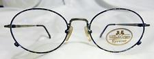 Vintage Willis & Geiger Traveler 1 Demi Grey 51/19 Eyeglass Frame New/Old Stock