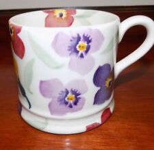 EMMA BRIDGEWATER WALLFLOWER PURPLE  BABY/ SMALL    MUG  NEW