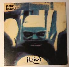 Peter Gabriel Signed Self Titled Album LP Vinyl JSA # Q64038 Autograph