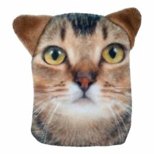 Ginger Tabby Cat Hand Warmer Pocket Hotty With Removable Cover and Plush Ear