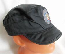 Genuine Danish Army Civil Defence Combat Grey Cap Hat Vintage Size 58 Medium