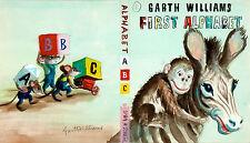 GARTH WILLIAMS~LARGE STUNNING ORIGINAL COVER ART WATERCOLOR PAINTING~ ANIMAL ABC