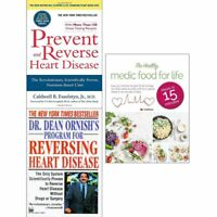 Prevent and Reverse Heart Disease Healthy Medic Food 3 Books Collection Set NEW