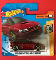 '98 Subaru Impreza 22B STI Version Hot Wheels 2020 Caja C Hw Turbo 1/5 Mattel