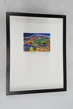 Signed Print Pakawau Trial Proof #3 Framed 12x16