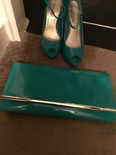 Lovely Ladies Shoes& Clutch Bag Size 4