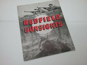 Vintage 1941 Catalog Redfield Gunsights Sights Accessories