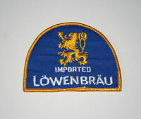 Vtg Imported Lowenbrau Lion Brewing Beer Distributor Cloth Patch 1960s NOS New