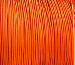 500 FT REEL UL1007 20 AWG ORANGE Hook Up Lead Primary Wire TINNED Stranded 300V