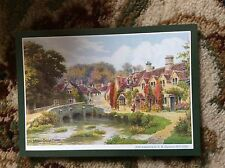 T2-1 postcard unused the bridge castle combe