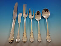 Modern Victorian by Lunt Sterling Silver Flatware Set for 8 Service 50 pieces