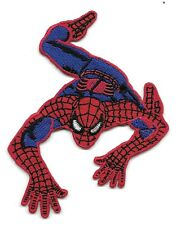 New Spiderman 3 1/2 X 3' Inch round  Iron on patch Free Shipping