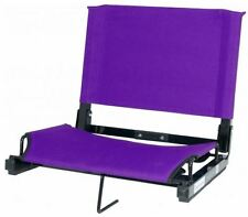"""Bleacher Seats With Backs Stadium Chair Cushion Deluxe 17"""" Wide Sports H/D Var"""