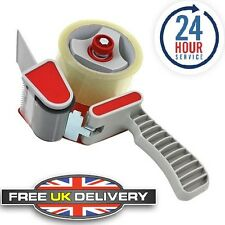 Tape Gun Dispenser+8 Rolls Of Clear Tape Packaging 48mm X 66m Parcel Packing