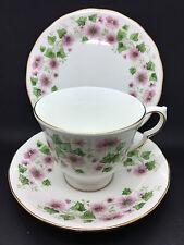 Queen Anne cup/saucer  in a pink floral design G779 pattern