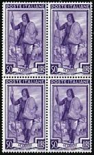 ITALY 1955 SHEPHERD & SHEEP block of 4 SC#673 MNH SC$50.00 ANIMALS