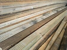 """RECLAIMED TIMBER PLANKS 5x1"""" x20ft (6m) IDEAL FOR CLADDING KICK BOARDS FENCING"""