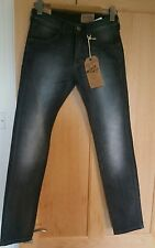 WRANGLER W27 L32 BLACK CAT DENIM JEANS NEW WITH TAGS