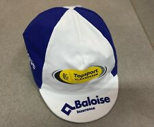 CASQUETTE CAP VELO CYCLISME BELGIQUE TEAM EQUIPE TOPSPORT VLAANDEREN BALOISE