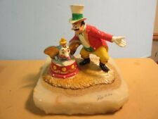 Disney Ron Lee DUMBO & THE RINGMASTER STATUE LE 109/950 Signed 1996 #MM860