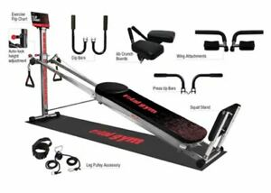 Total Gym XL7 Home Gym w/ Workout DVDs S